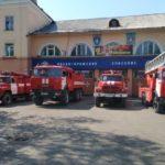 Портреты ветеранов войны и тружеников тыла появились на  машиных МЧС Кузбасса