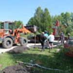 В Беловском районе готовится к открытию обновленный парк Победы