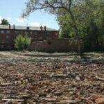 В Кемерове снесли аварийное здание медакадемии