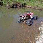 Пассажир квадроцикла погиб в результате ДТП на юге Кузбасса