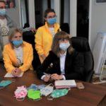 Защитные маски, изготовленные на конкурсе Фонда «СУЭК-РЕГИОНАМ», переданы Совету по вопросам попечительства в социальной сфере Кузбасса