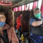 В Беловском районе проверили, соблюдают ли масочный режим пассажиры