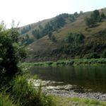 Уровень воды в реках на юге Кузбасса снижается