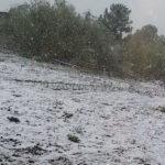 Север Кузбасса засыпало снегом