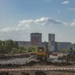 Новую дорогу в Ленинском районе Кемерова откроют к Дню шахтера