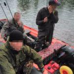 В Крапивинском округе рыбаков-браконьеров задержал спецназ