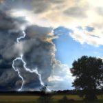 Завтра в Кузбассе возможны дожди, грозы, град и усиление ветра