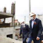 Сергей Цивилев потребовал закончить строительство школы в Тайге до конца года