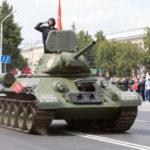 У президентского кадетского училища в Кемерове появится танк Т-34 и боевое знамя