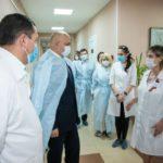 Памятники медикам установят в городах Кузбасса