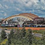 Уникальная арена на берегу Томи
