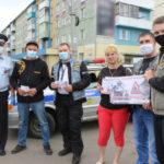 В Ленинске-Кузнецком полицейские и байкеры объединились для важного разговора с автомобилистами