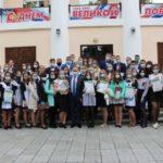 В Таштагольском районе чествовали лучших выпускников школ