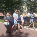 Кузбасский ансамбль казачьей песни в полном составе принял участие в голосовании
