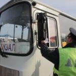Водители общественного транспорта Кузбасса совершили 5700 нарушений ПДД