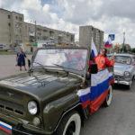 В День города кемеровчан поздравили «мобильные агитбригады»