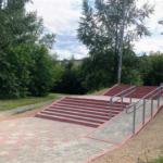 В Анжеро-Судженске отремонтировали самую ходовую лестницу