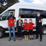 В Гурьевске появился комфортный транспорт для спортсменов