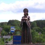 На въезде в Сосновку Новокузнецкого района установили двухметровую статую