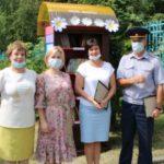 В Ленинске-Кузнецком открыли уличную библиотеку