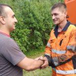 В Анжеро-Судженске «починили» и накормили дальнобойщика из Татарстана