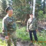 В Мысках казаки помогают охранять леса