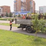 В Юрге устанавливают новые лавочки, а в Киселёвске возвращают прежние