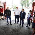 Реконструированный стадион «Регби» в Новокузнецке примет спортсменов в 2021 году