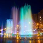 В Кузбассе включают фонтаны