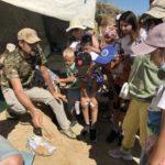 В Чебулинском округе археологи нашли крупную кость завропода