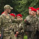 Кузбасских школьников приняли в ряды спецназовцев