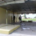 В Чебулинском округе устанавливают модульные ФАПы