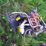 В Ижморском округе в ДТП погиб юный мопедист