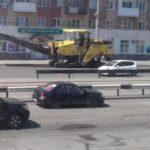 Крупный ремонт участка дороги в Крапивинском округе завершится в конце лета