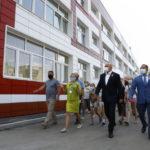 Крупнейшую школу Прокопьевска отремонтировали по программе «Моя новая школа».