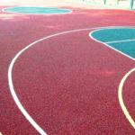В Кузбассе осужденные изготавливают покрытия для спортивных площадок