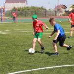 В кузбасском посёлке появился современный стадион