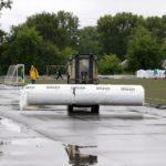 В Кемерове на стадионе «Шахтёр» заменят покрытие футбольного поля