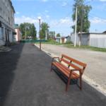 В Анжеро-Судженске отремонтировали двор на улице Победы