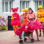 В Берёзовском состоялся  парад колясок