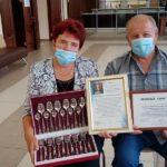 В Тяжинском округе чествовали «золотых» супругов