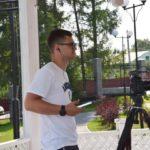 В Гурьевском округе побывал журналист федерального канала
