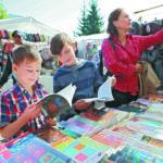 В Кемерове начали работать школьные базары