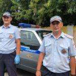 В Белове сотрудники ГИБДД спасли жизнь мужчине, потерявшему сознание в центре города