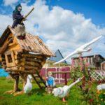 В Юрге живёт сказочный оформитель