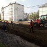 В Тайге завершат ремонт дороги на улице 40 лет Октября