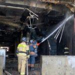 Названа причина пожара в ледовом дворце «Кузбасс»