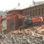 В Мысках завершили демонтаж обрушившейся школы