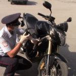 У жителя Гурьевска обнаружили мотоцикл, угнанный в Великобритании