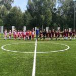В Осинниках появилось первое мини-футбольное поле с искусственным покрытием